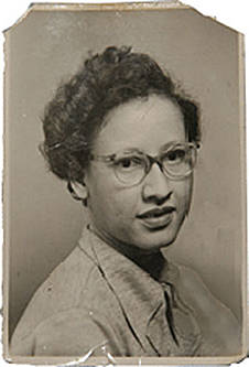 Portrait of Katherine Coleman Johnson