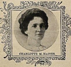 Charlotte M. Haines Portrait