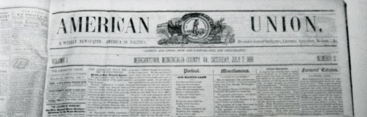 Masthead of American Union Newspaper