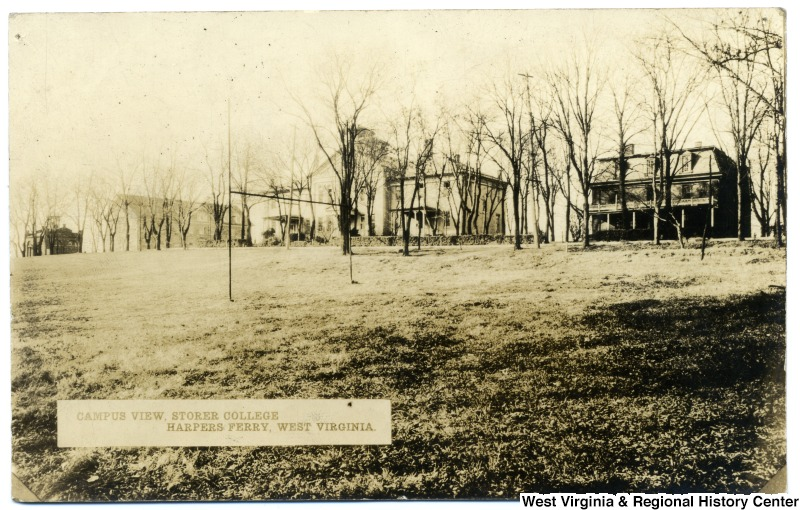 View of the Campus at Storer College, ca. 1900