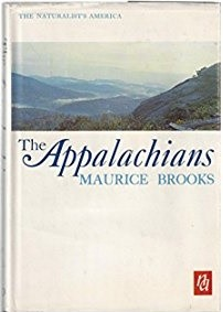 The original cover for Maurice Brooks,' The Appalachians