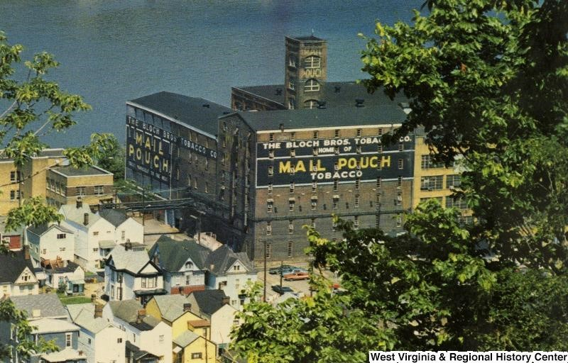 Bloch Brothers Tobacco Company building in Wheeling, W. Va.