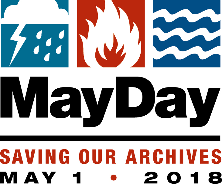 May Day logo for May 1, 2018, showing weather hazards