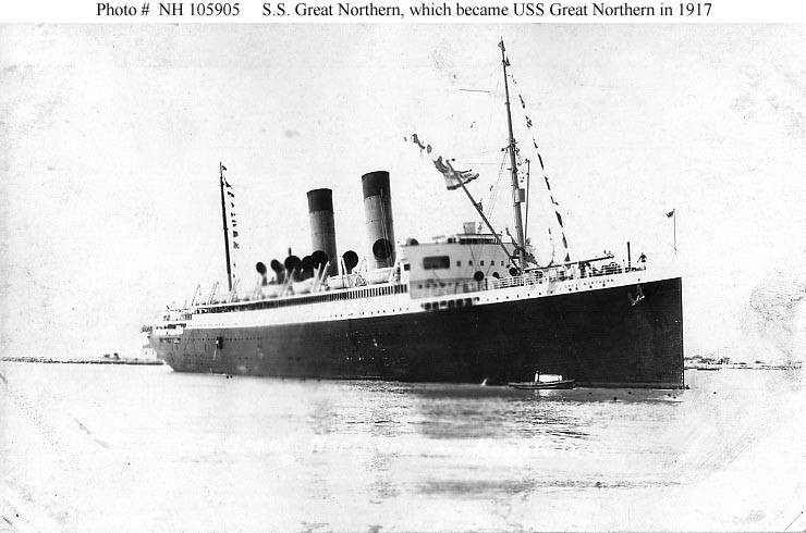 The USS Great Northern ship