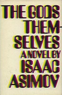 Cover of Isaac Asimov's book, The Gods Themselves