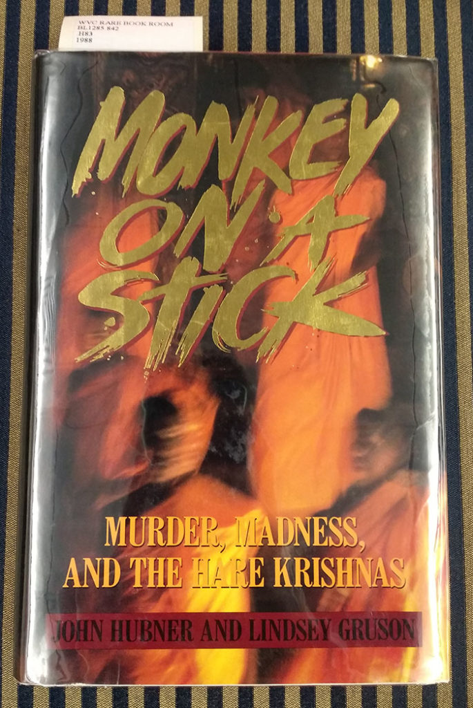 Book cover of Monkey on a Stick