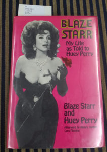 Book Cover of Blaze Starr's autobiography
