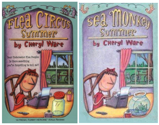Cover images of Flea Circus Summer and Sea Monkey Summer