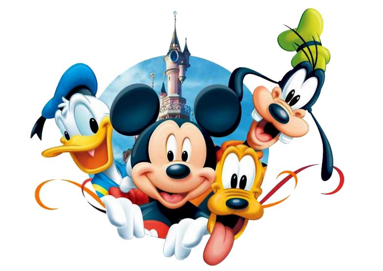 Image of Donald Duck, Mickey, Pluto, and Goofy