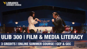 Graphic for film course