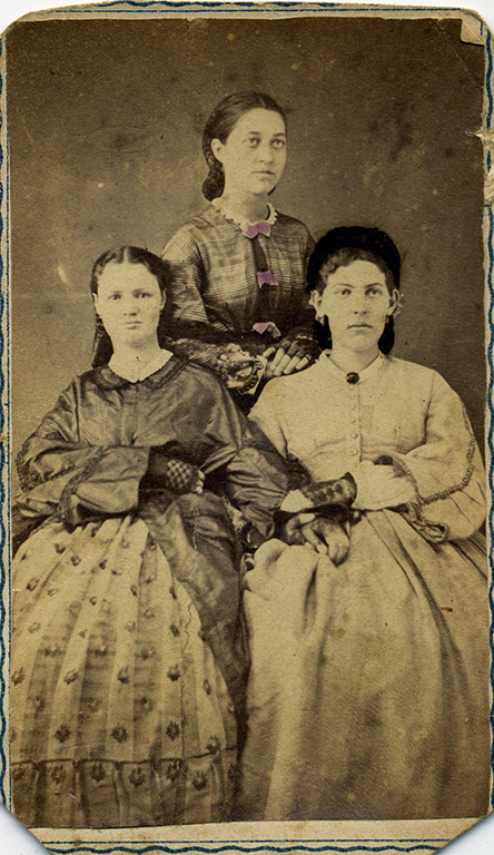 Portrait of three women