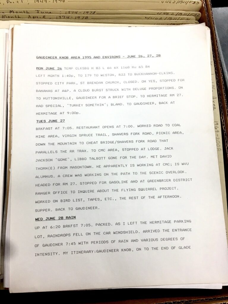 Typed page showing three diary entries for June 26 - June 28.
