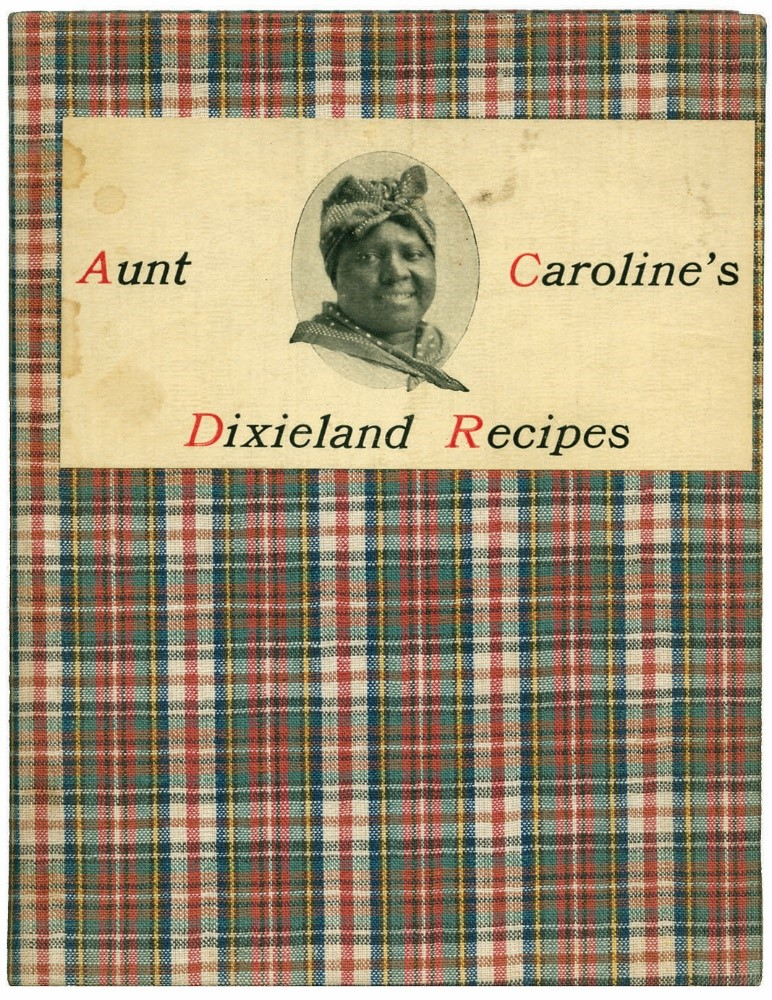 Book cover of aunt caroline's dixieland recipes