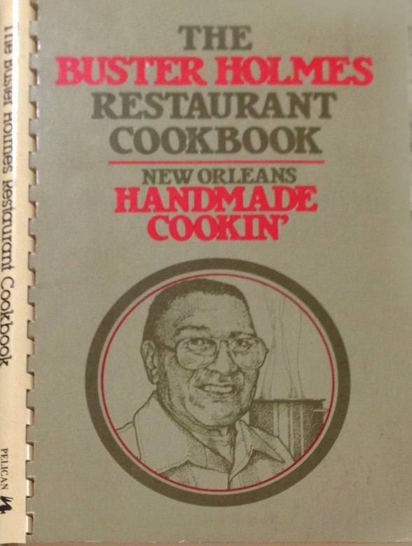 Book cover of  buster holmes restaurant cookbook