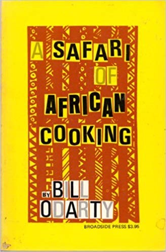 Book cover of A Safari of African Cooking