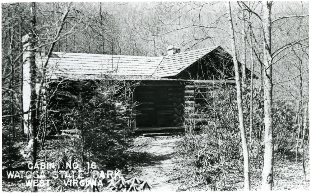 Watoga SP cabin