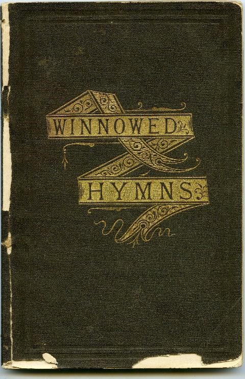 "Book titled ""Winnowed Hymns"""