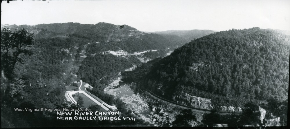 Landscape view of New River Canyon