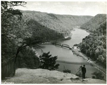New River Gorge with bridge