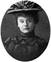 Portrait of Frances Theodora Parsons in hat