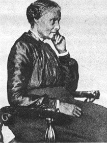 Portrait of Mary Ellen Pleasant, seated