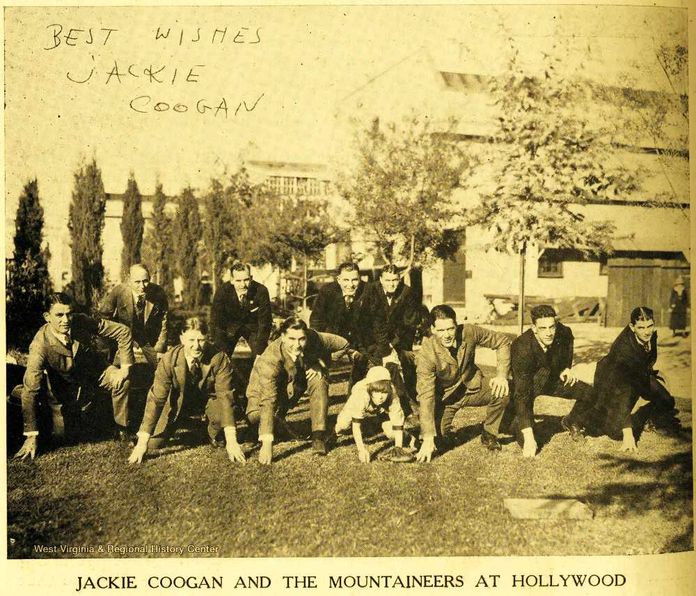 Jackie Coogan and the Mountaineers at Hollywood